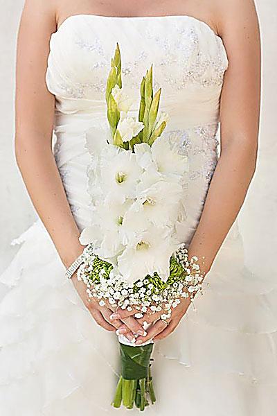 Свадебный Букет гладиолусов 1